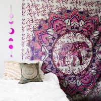Elephant Print Wall Hangings