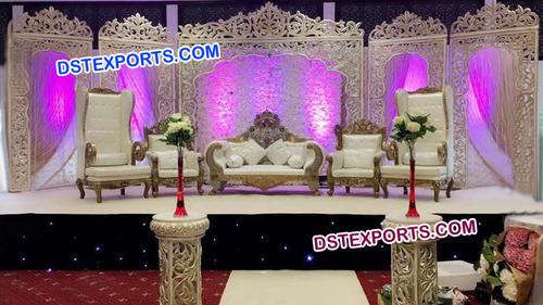 Jodha Akber Fiber Wedding Stage