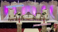 Jodha Akber Fiber Wedding Stage