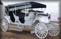 Wedding Long Sleep Horse Buggy