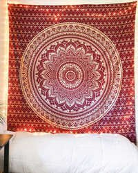 Mandala Tapestry Throw