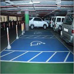 Epoxy Car Parking Flooring System Service