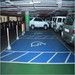 Epoxy Car Parking Flooring