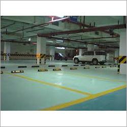 Epoxy Car Parking Flooring