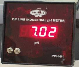 Non Flame Proof Online PH Meter