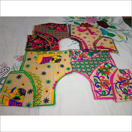 Gujrati Work Blouse
