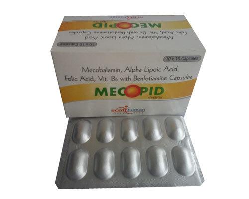 Mecobalamin ,AlphaLIpolc acid,benfotiamine folic acid & vitB6