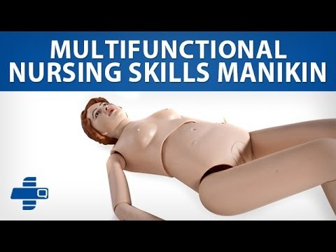 MULTI FUNCTIONAL PATIENT CARE NURSING MANIKIN