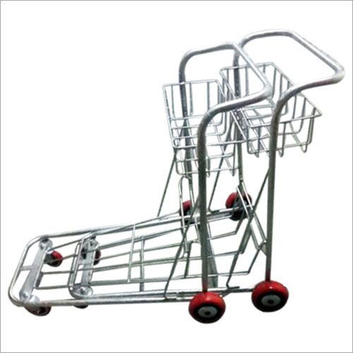 Airport Luggage Trolley