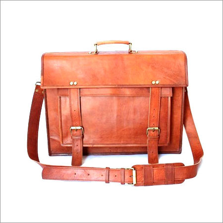 Leather Messenger Office Bag