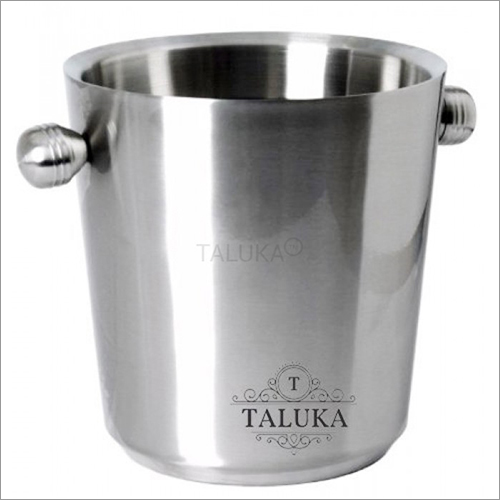 Steel Champagne Ice Bucket