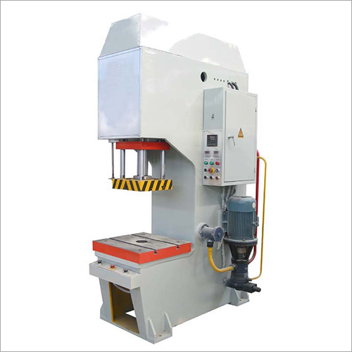 C Frame Hydraulic Press Machine Manufacturer, Supplier and Trader in ...