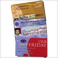 Magnetic Stripe Membership Card
