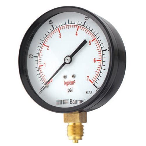 Baumer (Formerly Warree) Pressure Gauge