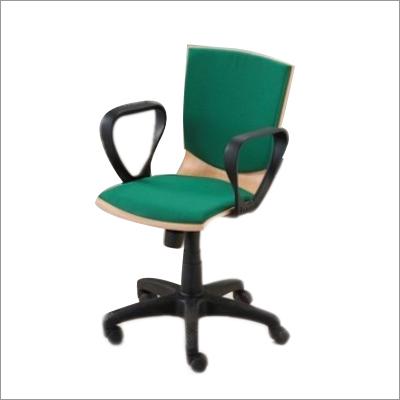 L Shaped Revolving Chair