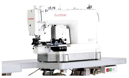 High Speed, 1-Needle, Needle Feed, Bottom Hemming Sewing Machine
