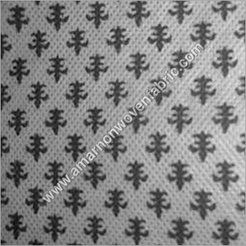 Non Woven Cotton Floral Printed Fabric