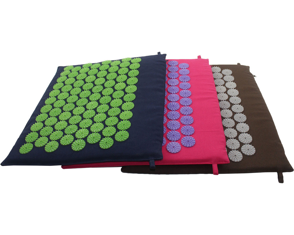 Mini Acupressure Mat (Purple-White)
