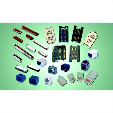 Sim Card Holders, Modular Jacks, Plugs, FPC Connectors and Cables