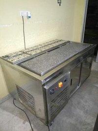 Pan Ice Cream Machine with Glass