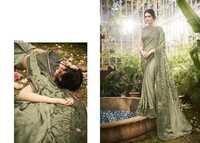 Designer Print Work Sarees Online