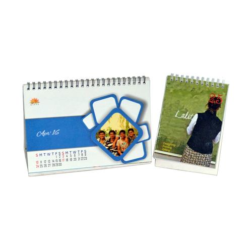 Personalised Table Calendar