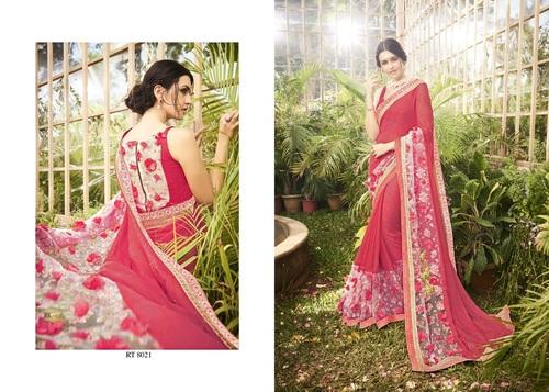 Beautiful Party Wear Designer Work Sarees Online