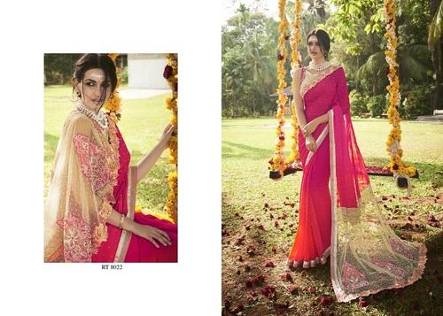 Buy Designer Work Elegant Saree Online