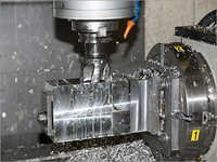 CNC Milling Fabrication Works