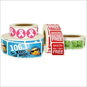 Promotional Labels Stickers