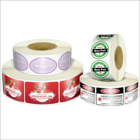 Printed Vinyl Label Rolls