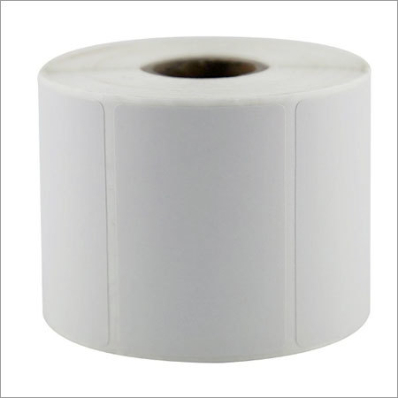 Plain Barcode Label Roll