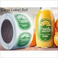 Clear Label Roll