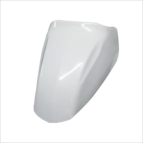 White Color Jupiter Mudguard