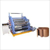 Oblique Type Single Profile Paper Corrugating Machine