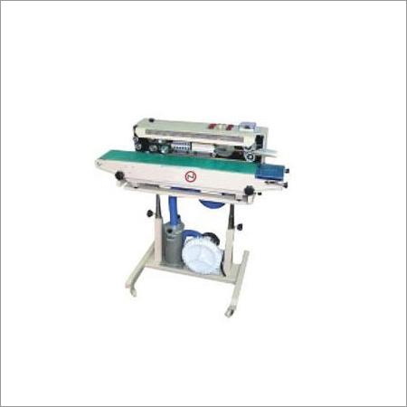 Air Flushing Continuous Band Sealing Machine