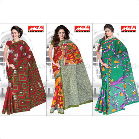 Cotton Print Saree