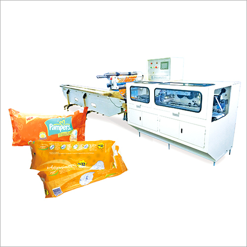 Sanitary Napkins Packaging Machine
