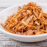 Dehydrated Fried White Onion