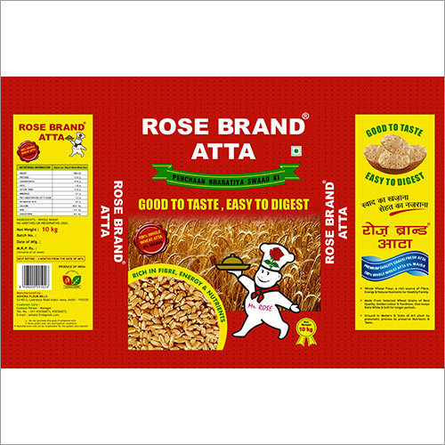 Rose Brand Atta 10 kg Pouch