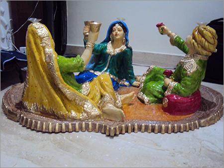 Tabletop Rajasthani Statues