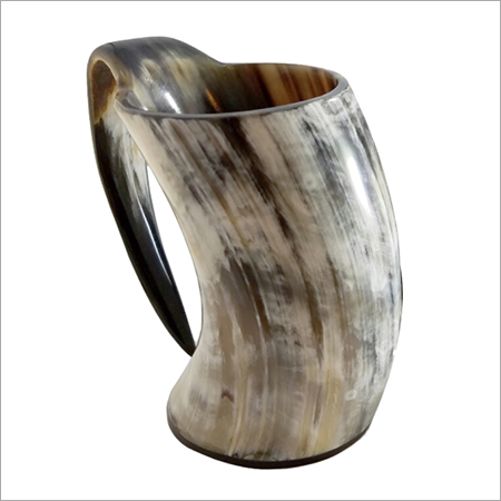 Buffalo Horn Drinking Mugs