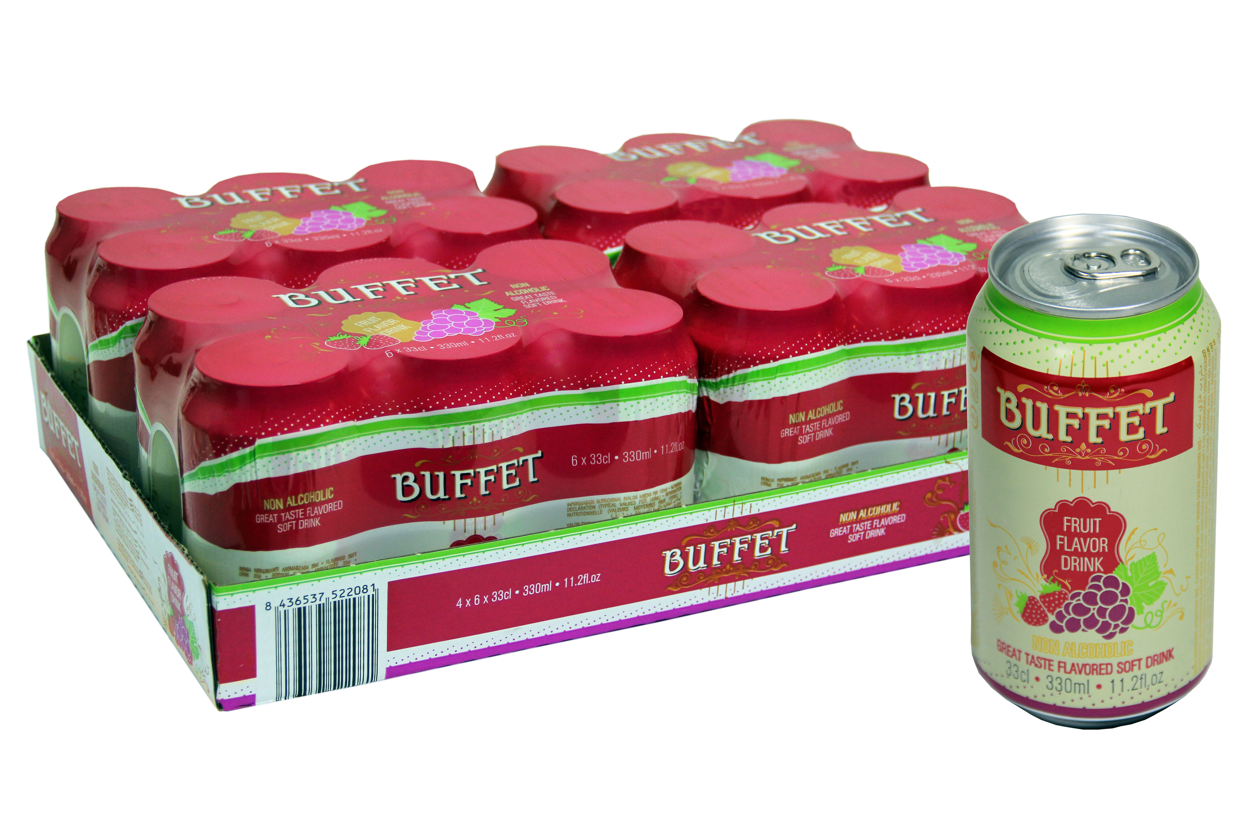 Buffet Fruit Soft Drink