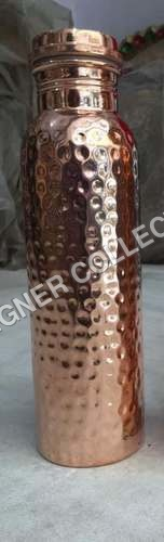 Copper Hammered Bottle