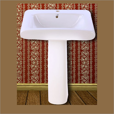 Square Pedestal Wash Basin