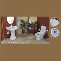 Ceramic Bathroom Couple Suite