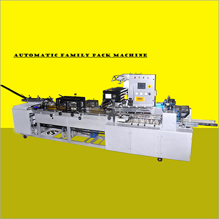 Family Pack Automatic Biscuit Packing machine