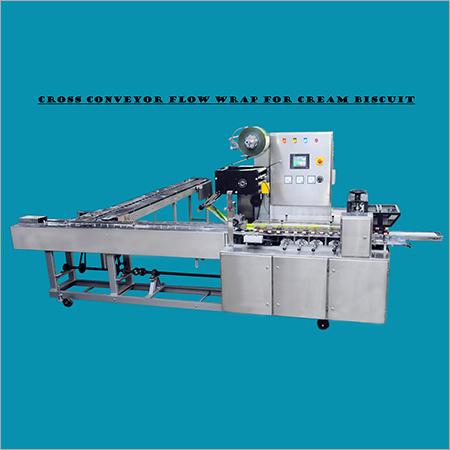 Cross Conveyor Flow Wrapping Machine
