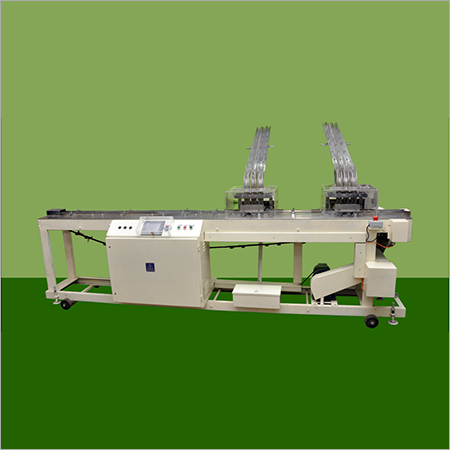 Auto tray filling Machine