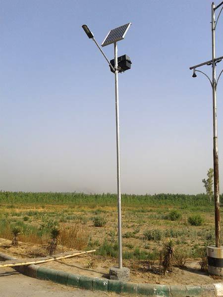 21 ft. Solar Street Light Poles